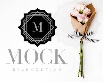 Styled Stock Photography | Flatlay image | Mockup with Roses | Styled Photography | Flatlay with Roses | Digital Image