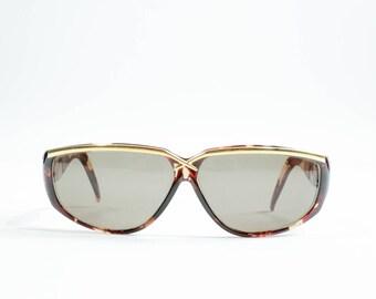 LAURA BIAGIOTTI - Plastic maculate sunglasses
