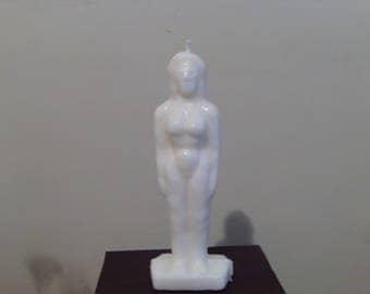 Ritual Female Human Candle