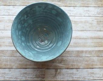 Large Wheel-Thrown Ceramic Bowl