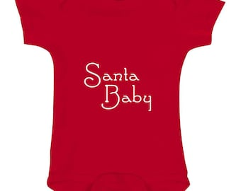 FREE SHIPPING! SaNTA BaBY add a name to customize to your little one!