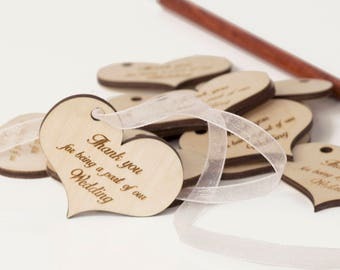 Wedding THANK YOU tags - Bridal thank you tags - Wedding favor tags - Thank you tags wedding - Custom wedding thank you tags - Rustic favors