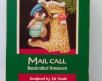 Hallmark Ornament - Mail Call. 1989
