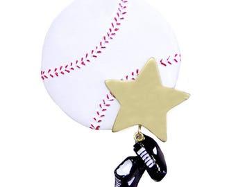Baseball ornament | Etsy