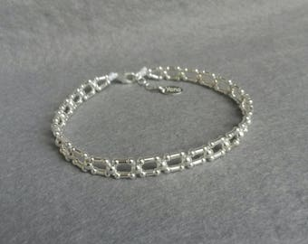 Yana Irina way bracelet square links