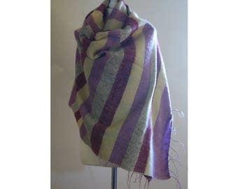 Woolen Striped Shawl