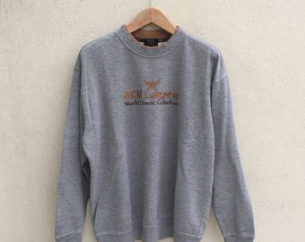 Vintage Mcm Spell Out Logo Sweatshirt