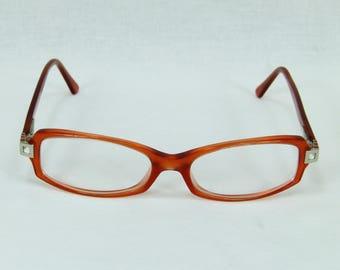 BVLGARI Glasses Frames 464-B Col.790 Orange