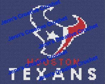 Houston Texans custom size graph and written