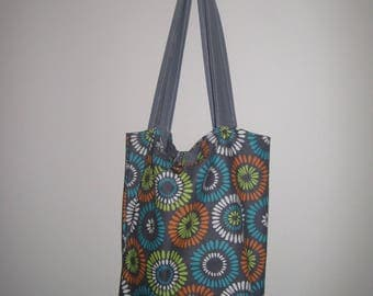 Shoulder Bag Tote, Library Bag, Beach Bag, Everyday Bag