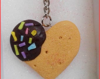 Cookie cute keychain