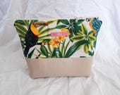 Trousse de toilette tropical