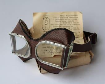 NOS! Soviet welding glasses, Vintage welding safety glasses, Soviet glasses, safety glasses, Vintage glasses, protective glasses, goggle