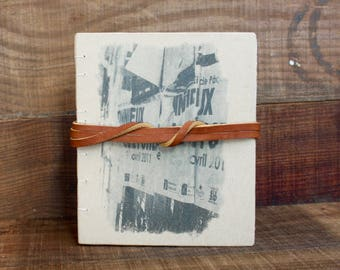 little poster handbound journal
