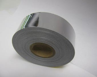 SuperBrite Polyester Chrome Tape, Sign Vinyl, Near Mirror Finish, EZ Weed PolyPlus