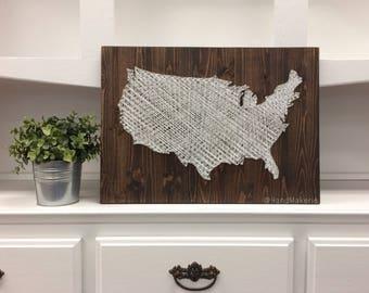 USA | String Art