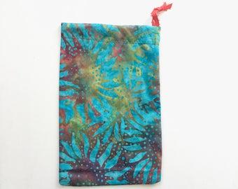 Sunflower batik tarot bag, primary color beauty