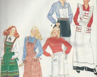 Vintage Butterick Apron Pattern