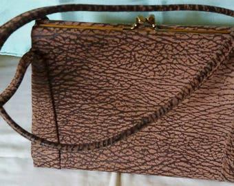 Striking Vintage 1960s Kelly Bag