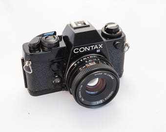 Contax 138Q with 50mm Lens