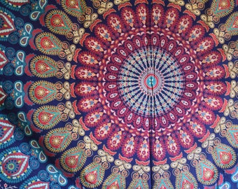 Gorgeous Blue Tapestry