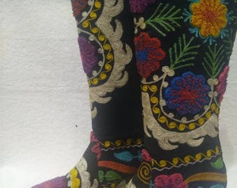 Suzani boots..colorfull.Everey size..