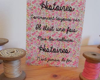Card mailing quote love stories