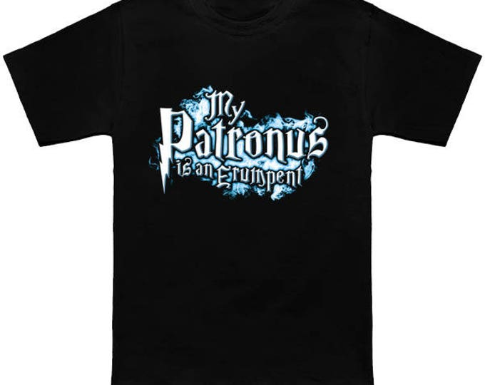 My PATRONUS Is A ERUMPENT Custom T-Shirt Magic Animal Charm Fantastic Beasts Wizard Spell Fantasy Shirt