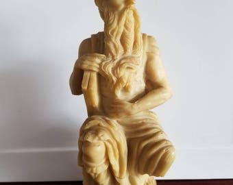 Vintage figurine of Socrates/ Table decoration/Ancient Greece