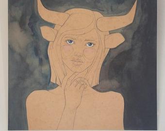 Taurus painting