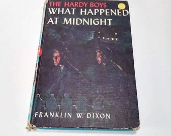 The Hardy Boys #10, What Happened at Midnight by Franklin W. Dixon  Hardcover  Mystery/Adventure