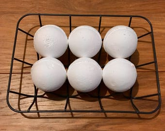 4 x Coconut Bathbombs