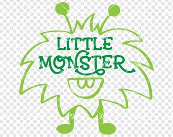 Little monster svg, Halloween SVG, Monster svg, boy halloween svg, Digital cut file, little monster cut file, commercial use ok