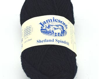 Wool - Shetland Wool - Blue Yarn - Shetland Yarn - Shetland - Fair Isle - Knitting Yarn - Destash Yarn - Yarn for Sale - Knitting Wool