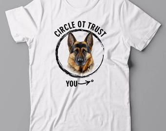 Funny cool T-shirt - German Shepherd, gift for dog lover