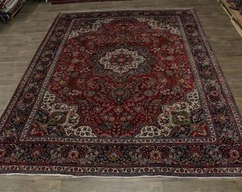Captivating Handmade S Antique Tabriz Persian Rug Oriental Area Carpet 10X13