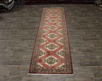 3X13 Amazing Design Hallway Hamedan Persian Rug Oriental Area Carpet 3ʹ5X12ʹ7