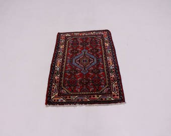Charming Hand Knotted Small Size Tajabad Persian Rug Oriental Area Carpet 2X3