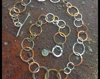 Round and Round -necklace