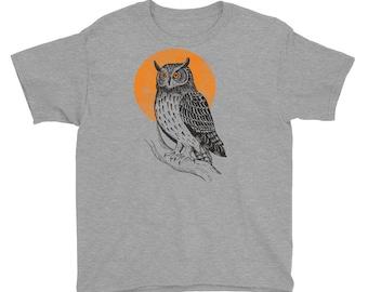 Owl, Owl Tshirt For Boys, Owl Tshirt For Toddlers, Owl Shirt For Boys, Owl Shirt For Toddlers, Owl Tshirt For Kids, Owl Shirt For Kids