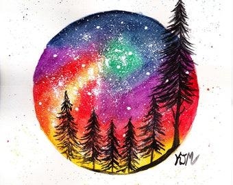 Galaxy Sunset (Original)