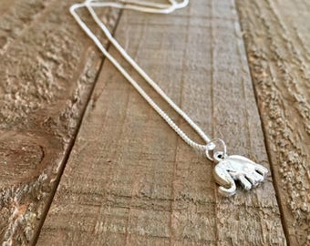 Elephants necklace-jewelry-gift