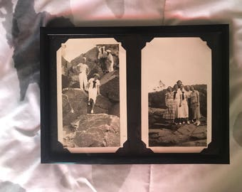 Vintage Framed Photos - Women at the Park