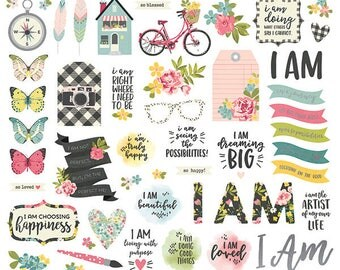 Simple Stories  Bits and Pieces I Am  PreOrder
