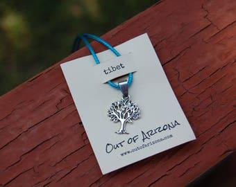 Tibet Tree Charm Necklace