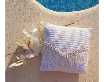 Cushion Bohemian & shells