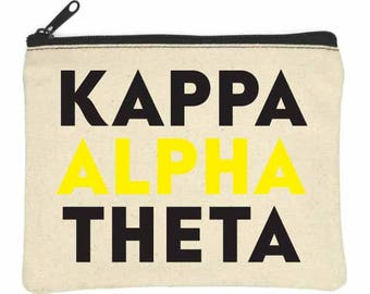 KAPPA ALPHA THETA Bittie Bag