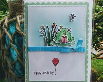 Froggy - Hoppy Birthday