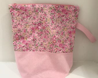 Liberty fabric Zippered Project Bag (B)