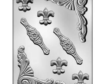 Baroque Designs #3 Chocolate Candy Mold 9472
